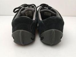 Merrell Womens US 6.5 Shoes Circuit Grid Comfort Black Suede Leather EU37 EUC image 4
