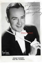 Jimmy Dorsey 1940's Jazz Great Musician Autographed Photogrpah FREE SHIP... - $166.42