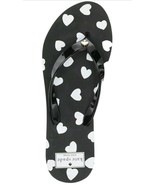 Kate Spade New York Women's Milli Sandal Flip-Flop White/Black Size US8M... - $39.59