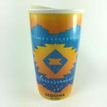 Starbucks Sedona Arizona Double Wall Traveler Ceramic Travel Tumbler Cup... - $32.33