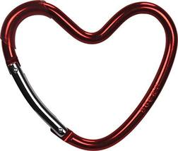 Dooky Buggy Stroller Hook - Aluminium Alloy Carabiner Hook - Heart Shaped Design