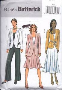 Primary image for Butterick B4464 Misses' Jacket, Top, Skirt & Pants
