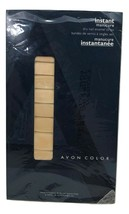 Avon Color Instant Manicure Dry Nail Enamel Strips Twinkling Pink - $10.89