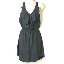 d1dbf421b805 American Eagle Outfitters AEO Dress Ruffle Front Women Size XS Sleeveless -  $14.82
