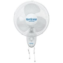 Hurricane Supreme Oscillating Wall Mount Fan 12 in - $32.19