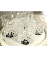 Ralph Lauren Aston Crystal Double Old Fashioned Glasses Set of 4 - $56.00