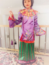 Alice Through The Looking Glass girls Alice Asian Inspired Deluxe Costume - $55.00