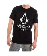 Assassins Creed Unity Logo Mens T-shirt XL - $21.51