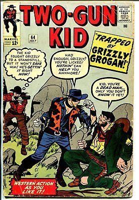 Two-Gun Kid #64 1963-Marvel-John Severin-JacK Kirby-VG-