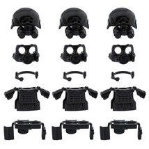 Custom swat minifigure police army armor compatible for lego set accessories thumb200