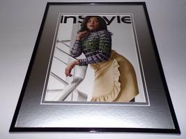Taraji P Henson 11x14 Framed ORIGINAL 2019 In Style Magazine Cover - $22.55