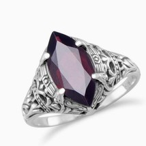 Sultry Oxidized Garnet Ring - $33.97