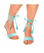 Dream Pairs Maxim New Women Open Toe Fashion Gladiator Ankle Straps Lace... - $14.94