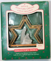 Hallmark: Miniature Creche - Nativity Star - Series 4th - 1988 Classic Ornament - $10.19