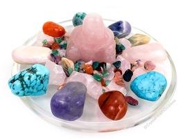 Love Energy Rose Quartz Buddha Crystal House Kit - $95.00