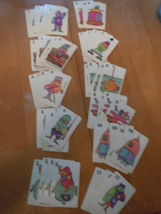 Vintage Whitman Retro Looking Card Game 1960's - $8.99