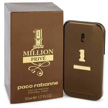 1 Million Prive by Paco Rabanne Eau De Parfum Spray 1.7 oz (Men) - $62.28