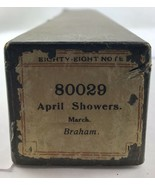 """Eighty- Eight  Note Piano Player Roll """"April Showers"""" 80029 - $9.49"""