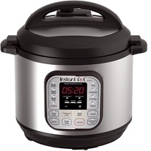 Instant Pot DUO80 8 Qt 7-in-1 Multi- Use Programmable Pressure Cooker, S... - $139.58