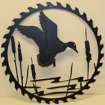Duck Sawblade Metal Wall Art- Flat Black - $45.00+