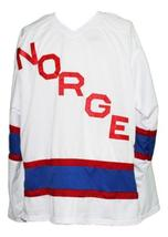 Team norway new men hockey jersey white any size   1 thumb200