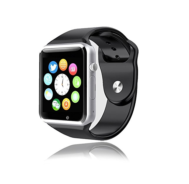 Primary image for Waterproof Bluetooth Smart Watch Phone  Camera SIM Card Android IOS Phones