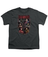 Authentic The Justice League Movie of Six Shield photo Boy Youth T-shirt... - £19.36 GBP