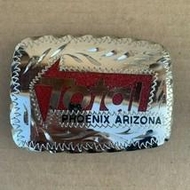 Vintage Total Phoenix AZ Belt Buckle  - $18.00