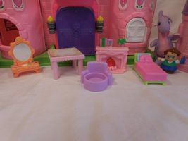 Fisher Price Little People Pink Castle + Play 'N Go Castle + Princess Carriage image 3