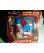 MARVEL SPIDERMAN Pretend To Shave Groom & Go Play Set 6 Piece New In Box - $11.78