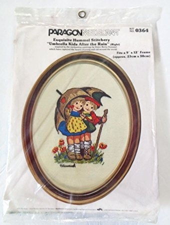 "Primary image for Paragon Needlecraft Exquisite Hummel Stitchery ""Umbrella Kids After"