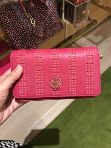06d0fc4ba724 Tory Burch Robinson Perforated Mini chain and 50 similar items. 12