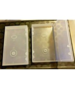 Clear VHS Protective Plastic Covers for VHS Cassette Tapes - Lot of 12 - $8.04