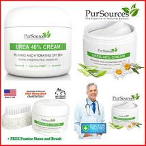 4 oz PurSources Urea 40% Foot Cream Best Callus Remover For Feet, Elbows... - $18.55+