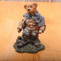 Boyds Bears and Friends The Bearstone Collection Stonewall The Rebel 228302 - $18.69