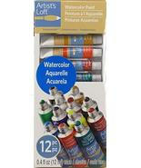 Artist's Loft Watercolor Paint Set 12 Colors - $9.86