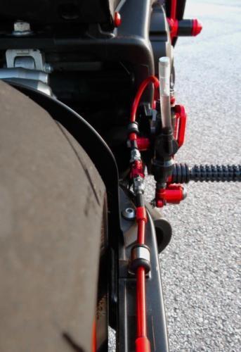 Suzuki Gsxr 750 Bremsschläuche 2006-2007 Front-Rear Geflochten Edelstahl Set