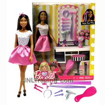 """New 2016 Barbie Style Your Way 12"""" Doll Set NIKKI with Styling Accessories - $44.99"""