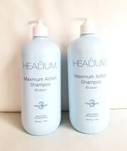 2-PACK Healium 5 Maximum Action Shampoo Heal Level 3 - 33 fl oz / 1 Liter - $28.66