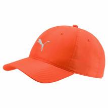 New 2018 PUMA Golf Pounce Adjustable Tech Cap / Orange / Free Puma Hat Clip - $22.77