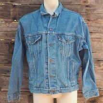 Levis Denim Azul Jean Jacket Talla XL - $96.53