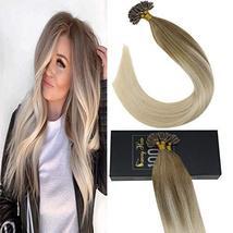 【7 Days Coupon】Sunny Prebonded U Tip Human Human Hair Extensions-Balayge Color H image 7