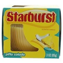 Starburst Pina Colada Scented Candle - $10.52