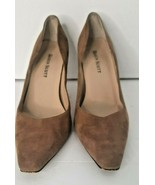 Women's Brown Suede Leather Pumps 7 M     /s - $19.79