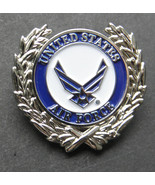 USAF US Air Force Wings Wreath USA Lapel Pin Badge 1 Inch - $4.85