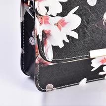 Women Floral Shoulder Bag Small Messenger Bag Retro Butterfly Clutch Tote Purse image 9