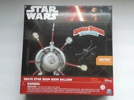 Star Wars Death Star Boom Boom Balloon Board Game Disney Spinmaster Brand New  - $29.69