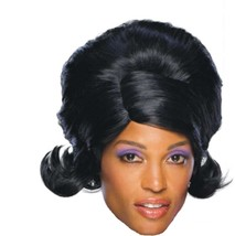 Wig - Dream Glam - Black 60's Girl Group Diana Ross Supremes Motown Flip... - $9.86