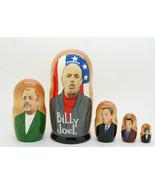 """Billy Joel matryoshka Russia doll Nesting dolls babushka dolls set of 5, 6"""" - $64.90"""