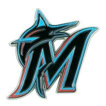Fanmats MLB Miami Marlins Diecast 3D Color Emblem Car Truck RV 2-4 Day Delivery - $15.83